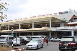 В аэропорту Пхукета не проверяют багаж при входе