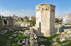 «Башня ветров» в Греции вновь открыта для туристов
