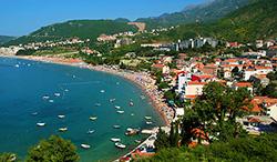На побережье Черногории работает центр по чрезвычайным ситуациям