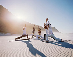 Фестиваль йоги в пустыне Арава