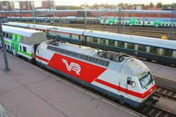 Финская железная дорога вводит новую политику цен на билеты