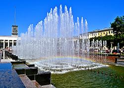 В Петербурге заработали фонтаны