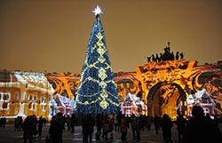 Гостиницы Петербурга в новогодние каникулы