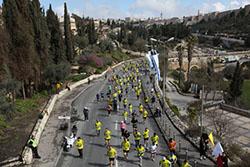 Израиль приглашает марафонцев в 2016 году