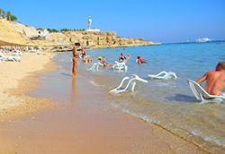 На курортах Красного моря господствует жара