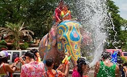 В Таиланде стартовал местный Новый год
