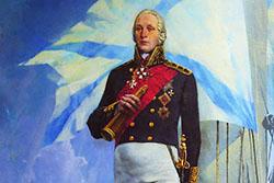 В Петербурге установят памятник адмиралу Ушакову