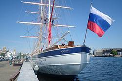Парусник «Россия» планирует принимать экскурсии