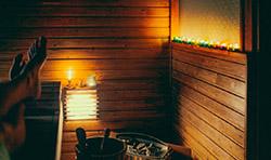 Рождественская сауна приглашает попариться