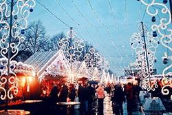 Рождественская ярмарка в Петербурге