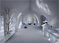Снежные достопримечательности Финляндии
