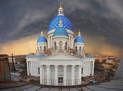 В Петербурге почти завершена реставрация Троицкого собора