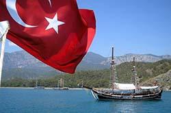 В сентябре Турция стала самым популярным направлением для туристов