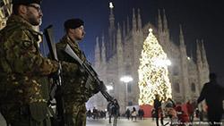 В Милане усиливают меры безопасности