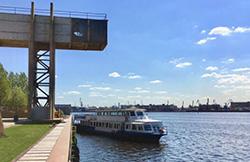 В порту «Севкабель» открылся пассажирский причал