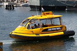 Как вызвать водное такси в Стамбуле