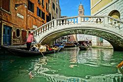 Венеция запретила туристам «прикасаться» к велосипеду